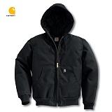 [칼하트]CARHARTT - 익스트림 액티브 퀼트 자켓(BLACK) / 퀼트 후드집업