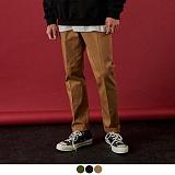 [11월24일 예약발송][어커버]ACOVER - [기모] Regular Cotton Pants 면바지 긴바지 바지