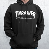 [트래셔] THRASHER SKATE MAG HOOD (BLACK) 스케이트 매그 후디 후드