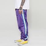 [조커버스/조크오브어스]Jokerbus/JokeOfUs - Logo Pants [Purple] 로고 조거팬츠 추리닝 라인 레터링 트레이닝팬츠 테이프 테이핑