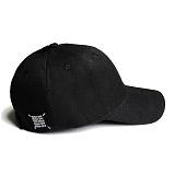 [러쉬오프]RUSH OFF - [Unisex] RUSH OFF Black Patch Black BallCap / 러쉬오프 블랙패치 블랙 볼캡 야구모자