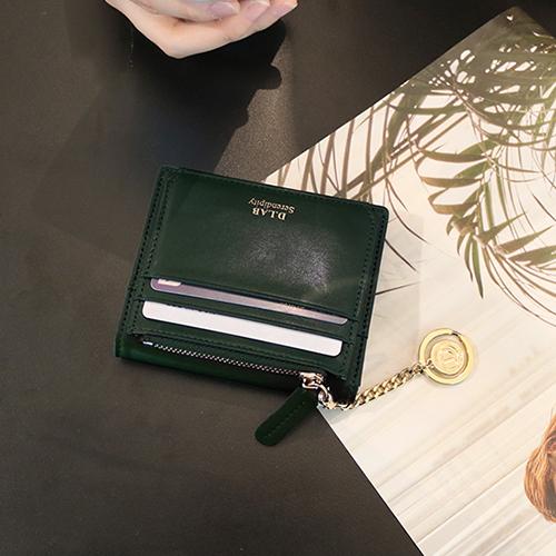[디랩]D.LAB Coin name card wallet  - Green 명함지갑