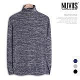 [뉴비스] NUVIIS - 심플 보카시 폴라니트 (CC098KN) 터틀넥