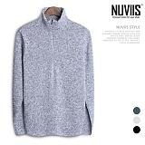 [뉴비스] NUVIIS - 기모 지퍼보카시 폴라니트 (CC096KN) 터틀넥