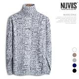 [뉴비스] NUVIIS - 3G 왕꽈배기 폴라니트 (DS094KN) 터틀넥