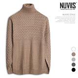 [뉴비스] NUVIIS - 엑소 폴라니트 (DS091KN) 터틀넥