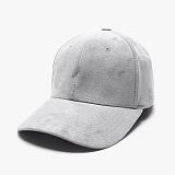 [피스메이커]PIECE MAKER - SLASH SUEDE BUCKLE CAP (LIGHT GREY) 스웨이드 볼캡 야구모자