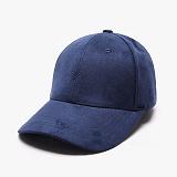 [피스메이커]PIECE MAKER - SLASH SUEDE BUCKLE CAP (BLUE) 스웨이드 볼캡 야구모자