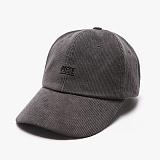 [피스메이커]PIECE MAKER - CORDUROY PIECE CAP (CHARCOAL) 코듀로이 골덴 볼캡 야구모자