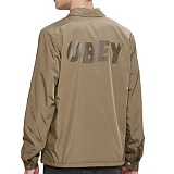 [오베이]OBEY - BAKER GRAPHIC JACKET 121800214 (DUSTY ARMY) 코치자켓