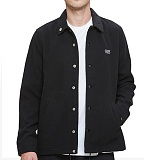 [오베이]OBEY - LURKER COACHES JACKET 121800241 (BLACK) 울 코치자켓