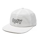 [오베이]OBEY - 16HO OUTLINE 6 PANEL 100580017 (WHITE) 스냅백