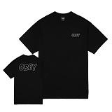 [오베이]OBEY - OBEY LO-FI TEE 163081319 (BLACK) 반팔티