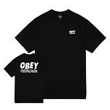 [오베이]OBEY - 16HO JUMBLED UP PROPAGANDA 163081340 (BLACK) 반팔티