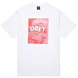 [오베이]OBEY - 16HO UNUSUAL ACTIVITY TEE 163081324 (WHITE) 반팔티