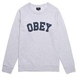 [오베이]OBEY - 16HO ACADEMY CREW 112421332 (HEATHER GREY) 맨투맨
