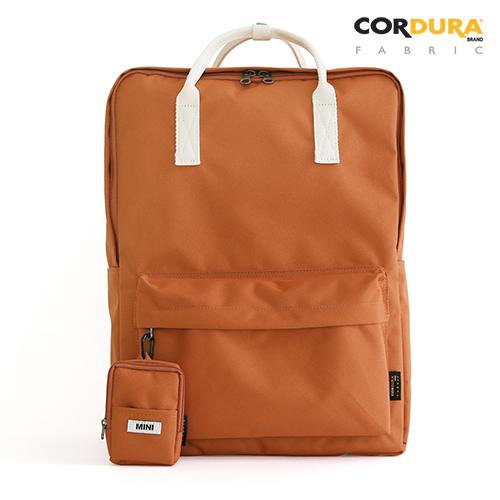 [퍼니메이드]SQUARE Backpack - 브릭 무지백팩