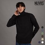 [뉴비스] NUVIIS - 솔리드 민자 폴라니트 (DS098KN) 터틀넥