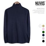 [뉴비스] NUVIIS - 반목 루즈 폴라니트 (DS097KN) 터틀넥