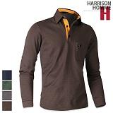 [해리슨] HARRSION 포켓 GT 로고 기모 카라티 DD1055 긴팔티