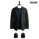 [모니즈]MONIZ 멜란지 포켓 코트 CTM141