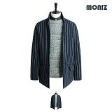 [모니즈]MONIZ 누빔 스트라이프 코트 CTM104