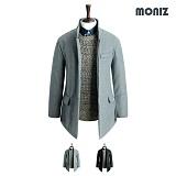 [모니즈]MONIZ 원버튼 히든 코트 CTM102