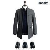 [모니즈]MONIZ 레더 포인트 코트 CTM063