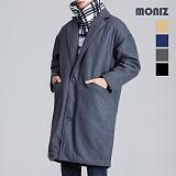 [모니즈] 누빔 모직 코트 CTM071