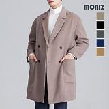 [모니즈] 누빔 더블 포켓 코트 CTM122