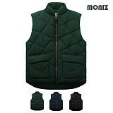 [모니즈]MONIZ 다이아몬드 퀄팅 패딩 조끼 PVT007
