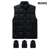 [모니즈]MONIZ 빅스퀘어 퀄팅 베이직 패딩 조끼 PVT006