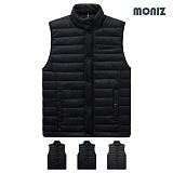 [모니즈]MONIZ 사이드 라인 포켓 패딩조끼 PVT005