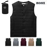 [모니즈]MONIZ 베이직 라인 초경량 패딩조끼 PVT003