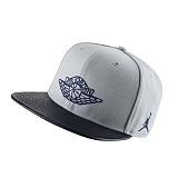 [NIKE] 나이키 조던 모자 뉴에라 스냅백 (챙 소가죽) 724891_012 그레이 NIKE JORDAN CAP 정품