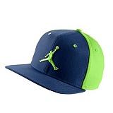 [NIKE]나이키 조던 모자 뉴에라 스냅백 619360 449 블루/연두 NIKE CAP 정품