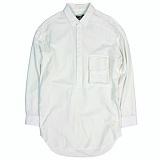 [언커먼팩터스]UFS - OXFORD DROP SHOULDER PULLOVER SHIRT 풀오버 옥스포드 롱셔츠 셔츠 남방