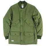 [언커먼팩터스]UFS - TRAPPERS VARSITY COAT 6oz 누빔 야상패딩 파카 코트 자켓