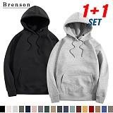 [1+1][Brenson]브렌슨 - 기모 오버핏 후드티