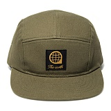 [디얼스]THE EARTH - LOGO TWILL CAMP CAP - KHAKI 캠프캡 모자