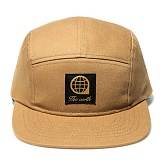 [디얼스]THE EARTH - LOGO TWILL CAMP CAP - BEIGE 캠프캡 모자