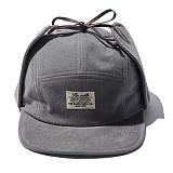 [디얼스]THE EARTH - CORDUROY EARFLAP CAMP CAP - GREY 캠프캡 모자