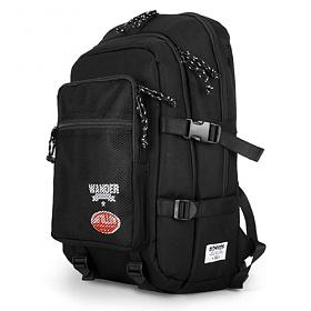 [핍스] PEEPS beginning backpack(black)_메쉬 백팩