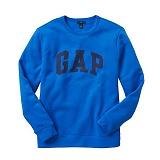 [GAP]갭  로고 맨투맨 긴팔티셔츠 359290 01 블루 GAP 남녀공용 정품 국내배송