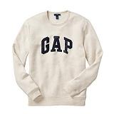 [GAP]갭  로고 맨투맨 긴팔티셔츠 359290 06 오트밀 GAP 남녀공용 정품 국내배송