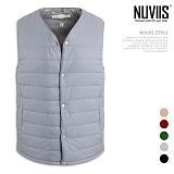 [뉴비스] NUVIIS - 가로퀄팅 경량 패딩조끼 (SP039PV)