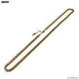 SEXTO - [써지컬스틸]W-010 chain necklace Gold 목걸이