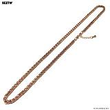 [섹스토]SEXTO - [써지컬스틸][변색X]W-010 chain necklace Rose Gold 목걸이