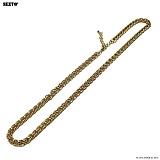 SEXTO - [써지컬스틸]W-011 chain necklace Gold 목걸이