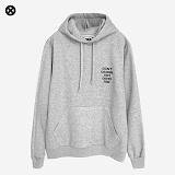 [코싸] koxa dontdesign hoodie-k gray 기모 후드티